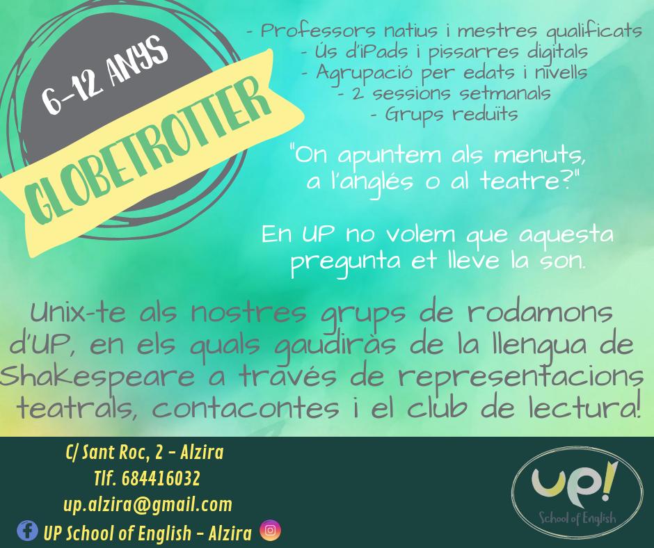 Millora les teues habilitats orals formant part dels nostres grups de conversa a UP Alzira.