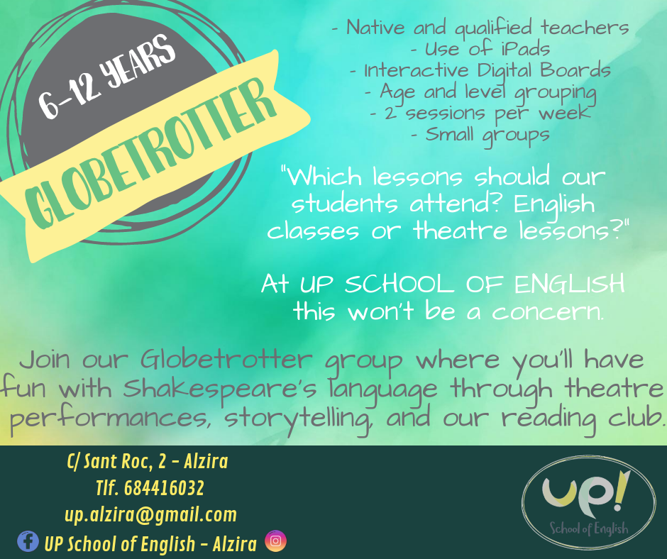 Native teachers and small groups to improve your english.